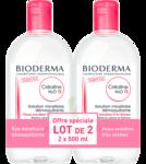Acheter CREALINE TS H2O Solution micellaire sans parfum nettoyante apaisante 2Fl/500ml à GUJAN-MESTRAS