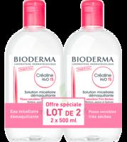 Crealine Ts H2o Solution Micellaire Sans Parfum Nettoyante Apaisante 2fl/500ml à GUJAN-MESTRAS