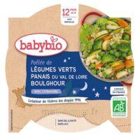 Babybio Assiette Bonne Nuit Légumes Verts Panais Boulghour à GUJAN-MESTRAS