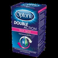 OPTONE DOUBLE ACTION Solution oculaire yeux secs Fl/10ml à GUJAN-MESTRAS