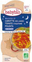 Babybio Bol Bonne Nuit Carotte Tomate Polenta Origan à GUJAN-MESTRAS