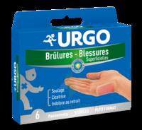URGO BRULURES-BLESSURES PETIT FORMAT x 6 à GUJAN-MESTRAS