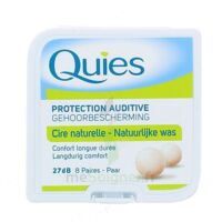 Quies Protection Auditive Cire Naturelle 8 Paires à GUJAN-MESTRAS