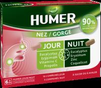 HUMER Nez/Gorge jour&nuit 15 comprimés à GUJAN-MESTRAS