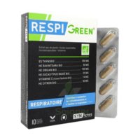 Synactifs Respigreen Bio Gélules B/10 à GUJAN-MESTRAS