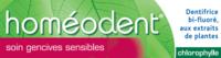 Boiron Homéodent Soin Gencives Sensibles Pâte Dentifrice Chlorophylle 2T/75ml à GUJAN-MESTRAS
