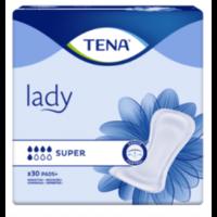 Tena Lady Protection Anatomique Adhésive Super Sachet/30 à GUJAN-MESTRAS