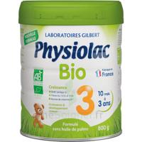 Physiolac Bio Lait 3éme Age 800g à GUJAN-MESTRAS