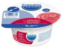 Fresubin 2kcal Crème Sans Lactose Nutriment Fraise Des Bois 4 Pots/200g à GUJAN-MESTRAS