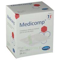 Medicomp® compresses en nontissé 7,5 x 7,5 cm - Pochette de 2 - Boîte de 25 à GUJAN-MESTRAS