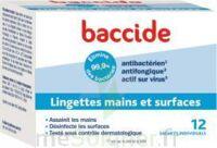 Baccide Lingette désinfectante mains & surface 12 Pochettes à GUJAN-MESTRAS