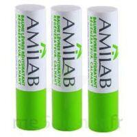 Amilab Baume labial réhydratant et calmant lot de 3 à GUJAN-MESTRAS
