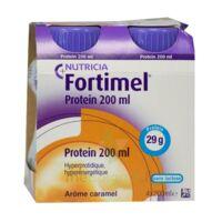Fortimel Protein Nutriment caramel 4 Bouteilles/200ml à GUJAN-MESTRAS