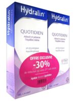 Hydralin Quotidien Gel lavant usage intime 2*200ml à GUJAN-MESTRAS