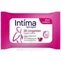 Intima Gyn'Expert Lingettes Cranberry Paquet/30 à GUJAN-MESTRAS