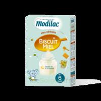 Modilac Céréales Farine Biscuit miel à partir de 6 mois B/300g à GUJAN-MESTRAS