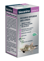 Biocanina Recharge Pour Diffuseur Anti-stress Chat 45ml à GUJAN-MESTRAS