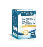 Nat&form Expert Magnésium+vitamine B6 Gélules B/40 à GUJAN-MESTRAS