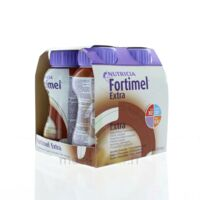 FORTIMEL EXTRA Nutriment chocolat 4Bouteilles/200ml à GUJAN-MESTRAS