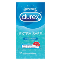 DUREX EXTRA SAFE Préservatif B/10 à GUJAN-MESTRAS