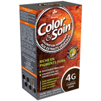 COLOR&SOIN Kit coloration permanente 4G châtain doré à GUJAN-MESTRAS
