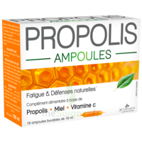 3 Chenes Propolis Solution Buvable 10 Ampoules/10ml à GUJAN-MESTRAS